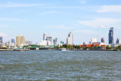 View of the Chao Praya river Stock Images