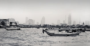 View of the Chao Praya River in Bangkok, Thailand Royalty Free Stock Photo