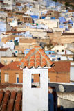 View of Chaouen Royalty Free Stock Photo