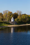 View of Chapel of St. Olga in Pskov, Russia Stock Image