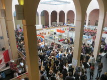 View of the charity fair. Ukraine Stock Image