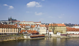 View from Charles Bridge Stock Images