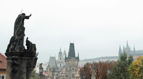 View from Charles Bridge Royalty Free Stock Photography