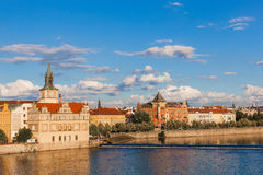 View from Charles Bridge. Prague at sunset. Czech Republic. Charles Bridge. Prague at sunset. Czech Republic Stock Photos