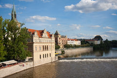 View from the Charles Bridge, Praha Stock Images