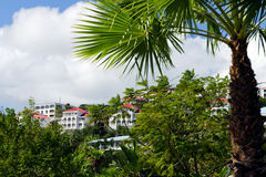View of Charlotte Amalie, St. Thomas USVI Stock Images