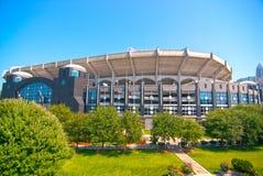 View of Charlotte, North Carolina. Nfl stadium stock photography
