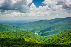 View of the Charlottesville Reservoir from Moormans River Overlo Stock Photography
