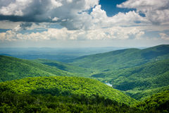 View of the Charlottesville Reservoir from Moormans River Overlo Stock Photos