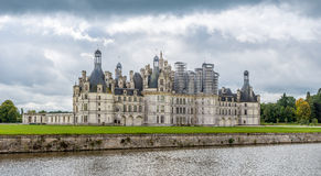 View at the Chateau of Chambord Stock Photography