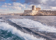 View of the Chateau d'If in marseille Stock Images