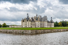 View at the Chateau de Chambord Royalty Free Stock Image