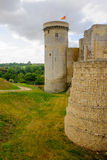 View of the Chateau de Falaise Royalty Free Stock Image