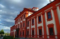 Chateau Troja. View on the chateau Troja in Prague, Czech Republic stock image