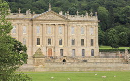 A View of Chatsworth House, Great Britain Royalty Free Stock Photos
