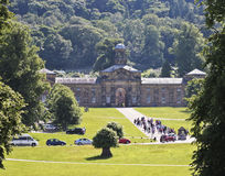 A View of Chatsworth House, Great Britain Stock Photography