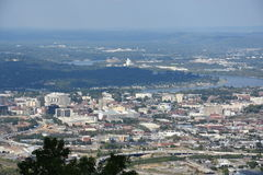 View of Chattanooga in Tennessee Stock Image