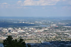 View of Chattanooga in Tennessee Royalty Free Stock Photos