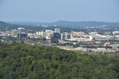 View of Chattanooga in Tennessee Royalty Free Stock Photography