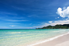 View of Chaweng beach, Koh Samui, Thailand Royalty Free Stock Image