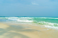 View of Chaweng beach, Koh Samui (Samui Island) Royalty Free Stock Image