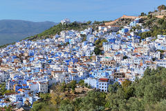 View of Chefchaouen, Morocco Stock Photography