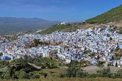 View of Chefchaouen, Morocco Stock Image