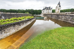 View on Chenonceau castle Stock Photography
