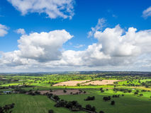 View of the Cheshire Countryside Stock Photos
