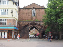 View of Chester old city centre Royalty Free Stock Images