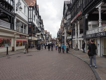 View of Chester old city centre Royalty Free Stock Image