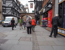 View of Chester old city centre Royalty Free Stock Photography