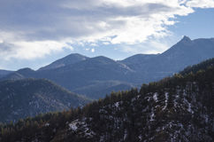 View from Cheyanne Mountain Colorado Stock Photography