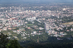 View of Chiang Mai from Wat Phrathat Doi Suthep  Temple Stock Images
