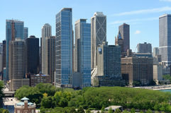 View of Chicago Stock Image