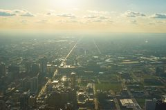 View of Chicago Royalty Free Stock Photography