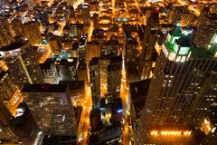 View of Chicago royalty free stock photos