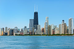 View of Chicago in the morning Royalty Free Stock Photos