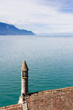 View from the Chillon Castle, Switzerland Stock Photography