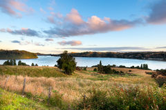 View of Chiloe Island Stock Image