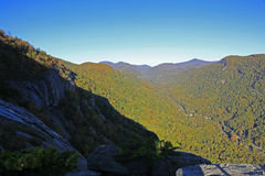 View from  Chimney Rock. The view from Chimney Rock in Chimney Rock North Carolina Royalty Free Stock Photos