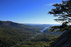 View from  Chimney Rock Royalty Free Stock Image