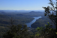 View from  Chimney Rock Stock Images