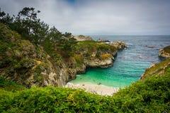 View of China Cove Beach,  Stock Photo