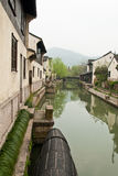The view  in a Chinese traditional village  Royalty Free Stock Images