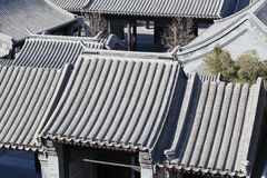 Beijing  Ancient Yard Royalty Free Stock Photo