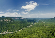 View from Chiney Rock Royalty Free Stock Photos