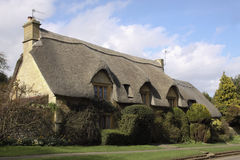 View of Chipping Campden cottage in Spring Royalty Free Stock Images