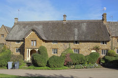 View of Chipping Campden cottage in Spring Stock Photos