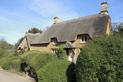 View of Chipping Campden cottage in Spring Royalty Free Stock Photos
